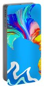 Speaking With Dolphins Portable Battery Charger