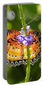 Speckled Butterfly Portable Battery Charger