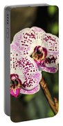 Speckled Orchids Portable Battery Charger