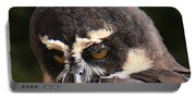 Spectacled Owl Portrait 2 Portable Battery Charger