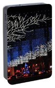 Spectacular Christmas Lighting In Madrid, Spain Portable Battery Charger