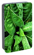 Spectacular Green Foliage Portable Battery Charger