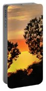 Spectacular Sunset In The Midwest Portable Battery Charger