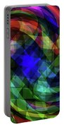 Spectrum Swirls Portable Battery Charger