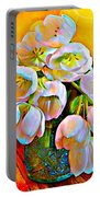 Spektrel Flowers Portable Battery Charger