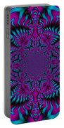Spellbound - Abstract Art Portable Battery Charger