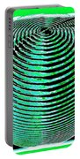Sphere In Green Portable Battery Charger