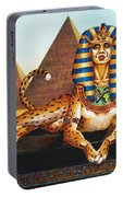 Sphinx On Plinth Portable Battery Charger