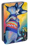 Sphynx Cats Friends Portable Battery Charger