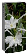 Spider Lilies Portable Battery Charger