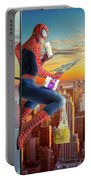 Spider-man / Snack Break Portable Battery Charger