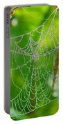 Spider Web Artwork Portable Battery Charger