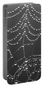 Spider Web Patterns Portable Battery Charger