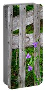 Spiderworts By The Gate Portable Battery Charger