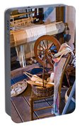 Spinning And Weaving Portable Battery Charger