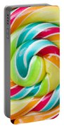 Spiral Candy  Portable Battery Charger