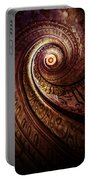 Spiral Staircase In An Old Abby Portable Battery Charger