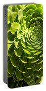 Spiral Succulant Portable Battery Charger