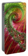 Spiralling Fractal Three Portable Battery Charger