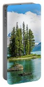 Spirit Island, Jasper National Park Portable Battery Charger