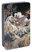 Spirits In Sleepy Hollow Portable Battery Charger