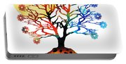 Spiritual Art - Tree Of Life Portable Battery Charger