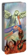 Spiritual Warfare Of Heart And Mind Portable Battery Charger