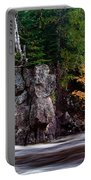 Splash Of Fall Color Portable Battery Charger