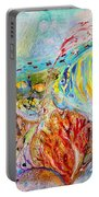 Splash Of Life #14 Red Sea  Portable Battery Charger