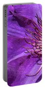 Splash Of Purple Portable Battery Charger