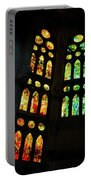 Splendid Stained Glass Windows Portable Battery Charger