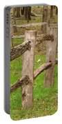 Split Rail Fence Portable Battery Charger