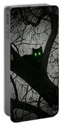 Spooky Cat Portable Battery Charger