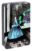 Spooky Historic Butterfly Dahlonega  Portable Battery Charger
