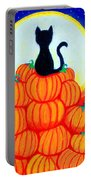 Spooky The Pumpkin King Portable Battery Charger