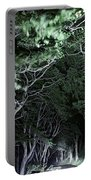 Spooky Trees Portable Battery Charger
