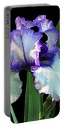 Spotlight On 'freedom Song' Bearded Iris Portable Battery Charger