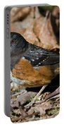 Spotted Towhee Portable Battery Charger