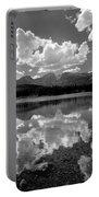 310204-bw-sprague Lake Reflect Bw  Portable Battery Charger
