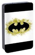 Spray Paint Batman Logo Portable Battery Charger