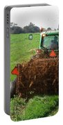 Spreading Manure Portable Battery Charger