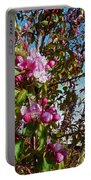 Spring Apple Blossoms- Spring Flowers Portable Battery Charger