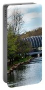Spring At Crystal Bridges Portable Battery Charger