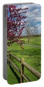 Spring At Rivercut Portable Battery Charger