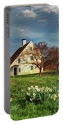 Spring At The Paine House Portable Battery Charger