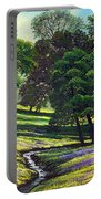 Spring Bloom Table Mountain Portable Battery Charger