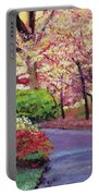 Spring Blossoms Impressions Portable Battery Charger