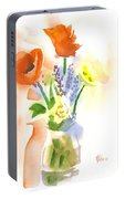 Spring Bouquet II Portable Battery Charger
