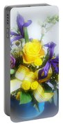 Spring Bouquet Portable Battery Charger by Sandy Keeton