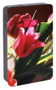 Spring Bouquet Portable Battery Charger by Steve Karol